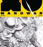 X-O Manowar 1 Black / White Variant